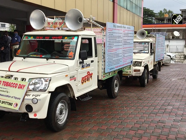 World No Tobacco Day: Vehicle spreads awareness against cancer caused by tobacco