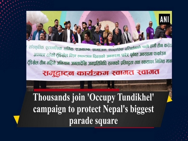 Thousands join 'Occupy Tundikhel' campaign to protect Nepal's biggest parade square
