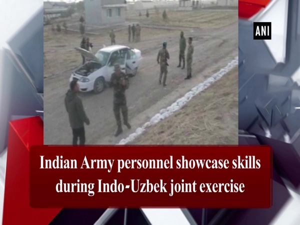 Indian Army personnel showcase skills during Indo-Uzbek joint exercise