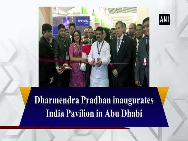 Dharmendra Pradhan inaugurates India Pavilion in Abu Dhabi