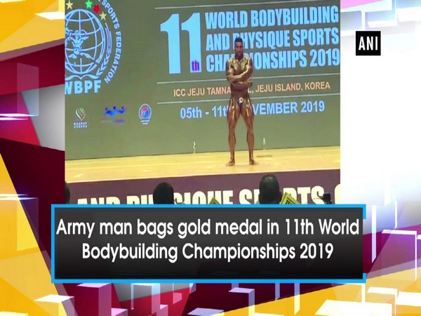 Army man bags gold medal in 11th World Bodybuilding Championships 2019