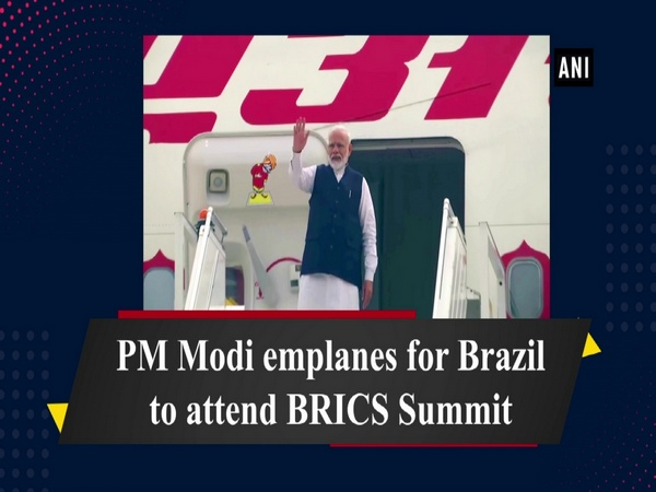 PM Modi emplanes for Brazil to attend BRICS Summit