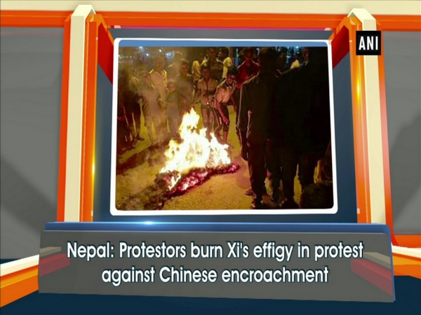 Nepal: Protesters burn Xi's effigy to protest Chinese encroachment