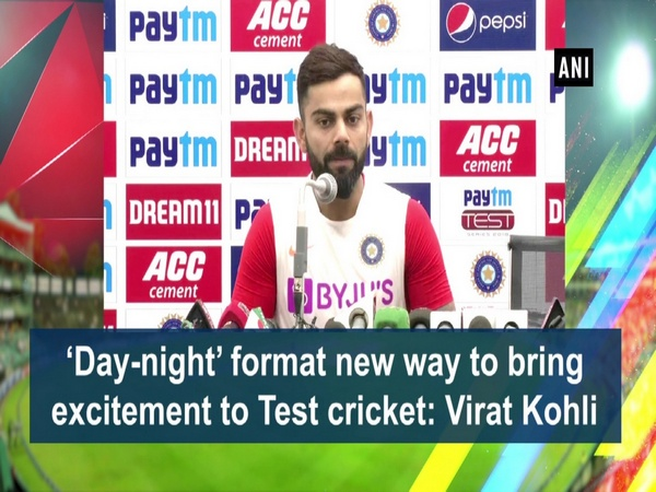 'Day-night' format new way to bring excitement to Test cricket: Virat Kohli