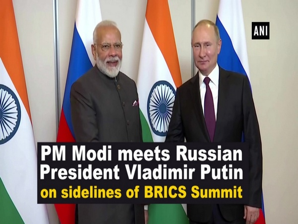 PM Modi meets Russian President Vladimir Putin on sidelines of BRICS Summit