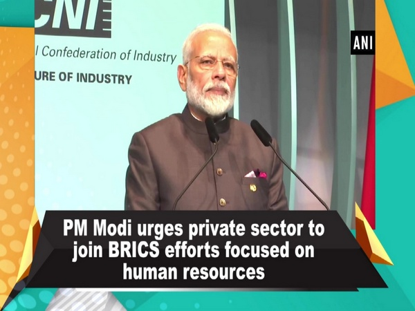 PM Modi urges private sector to join BRICS efforts focused on human resources