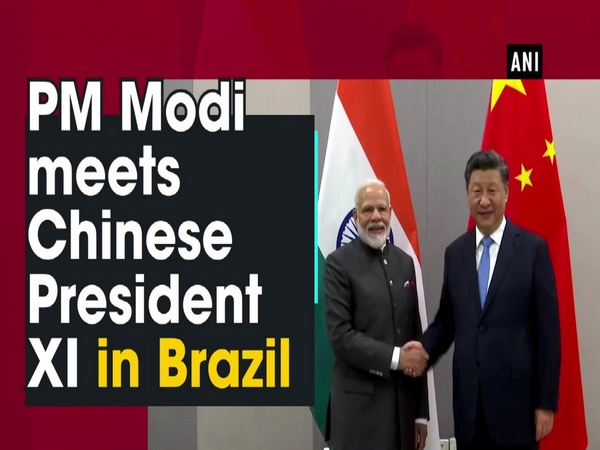 PM Modi meets Chinese President XI in Brazil