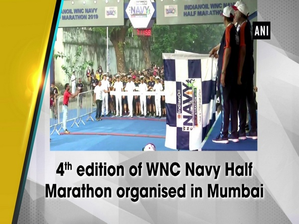4th edition of WNC Navy Half Marathon organised in Mumbai