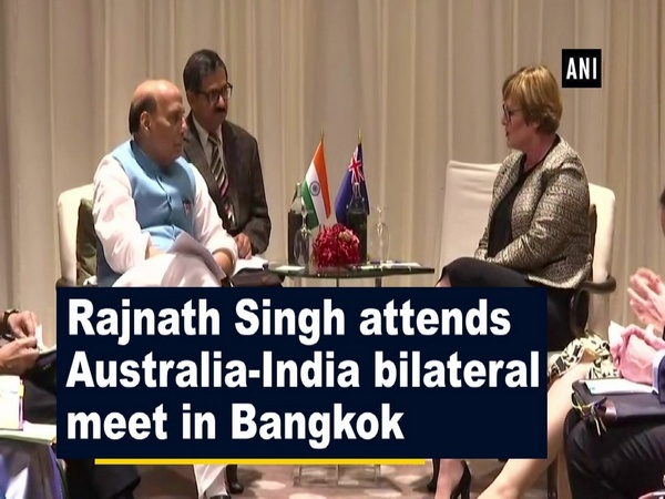 Rajnath Singh attends Australia-India bilateral meet in Bangkok