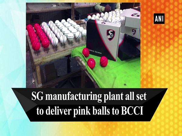 SG manufacturing plant all set to deliver pink balls to BCCI