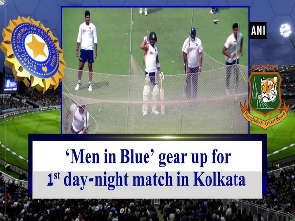 'Men in Blue' gear up for 1st day-night match in Kolkata