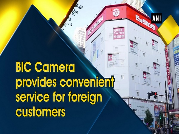 BIC Camera provides convenient service for foreign customers
