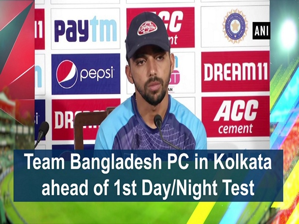 Team Bangladesh PC in Kolkata ahead of 1st Day/Night Test
