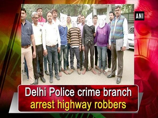 Delhi Police crime branch arrest highway robbers