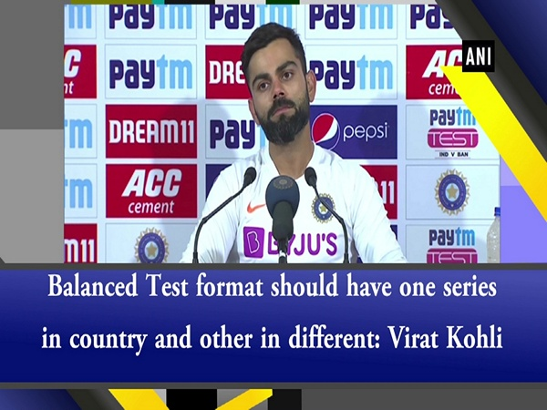 Balanced Test format should have one series in country and other in different: Virat Kohli