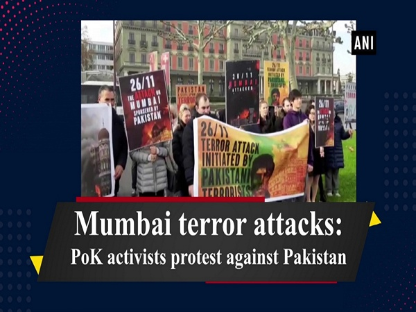 Mumbai terror attacks: PoK activists protest against Pakistan