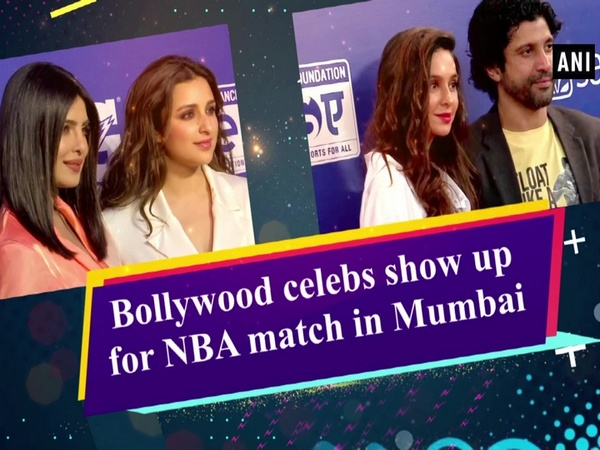 Bollywood celebs show up for NBA match in Mumbai