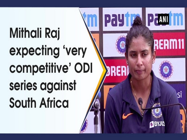 Mithali Raj expecting 'very competitive' ODI series against South Africa