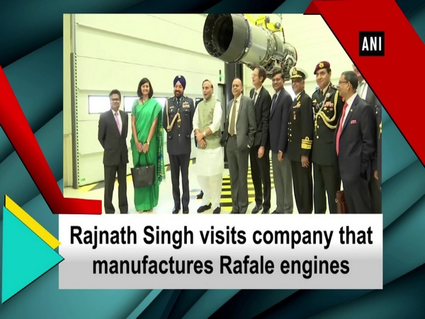 Rajnath Singh visits company that manufactures Rafale engines