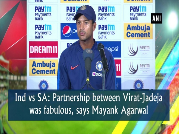 Ind vs SA: Partnership between Virat-Jadeja was fabulous, says Mayank Agarwal