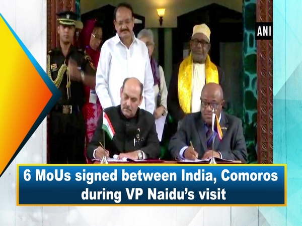 6 MoUs signed between India, Comoros during VP Naidu's visit