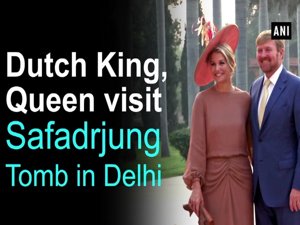 Dutch King, Queen visit Safadrjung Tomb in Delhi