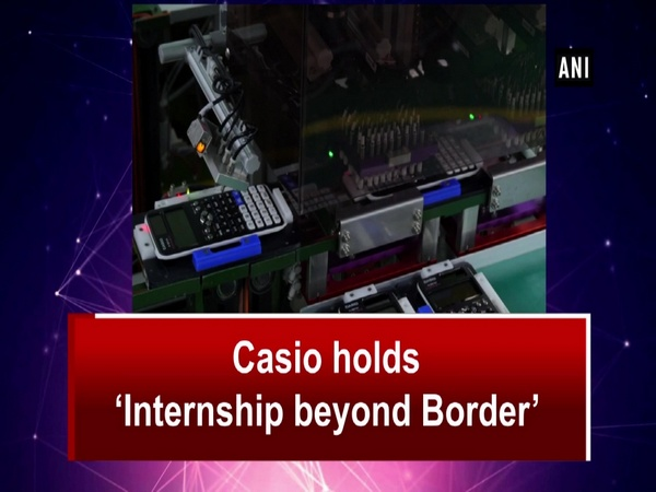 Casio holds 'Internship beyond Border'