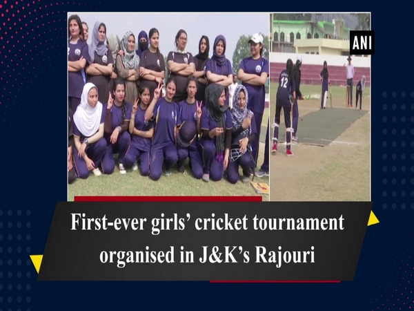 First-ever girls' cricket tournament organised in J-K's Rajouri