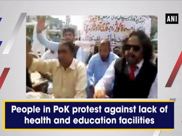 People in PoK protest against lack of health and education facilities