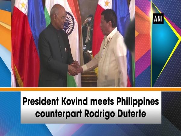 President Kovind meets Philippines counterpart Rodrigo Duterte