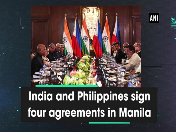 India and Philippines sign four agreements in Manila