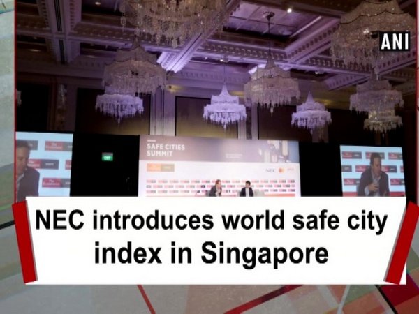 NEC introduces world safe city index in Singapore