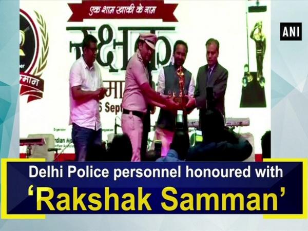 Delhi Police personnel honoured with 'Rakshak Samman'