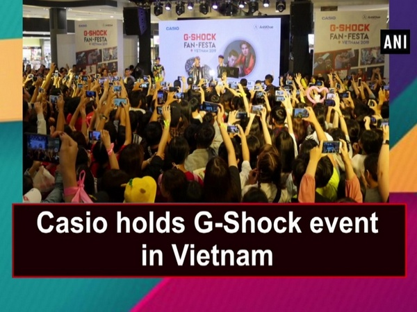 Casio holds G-Shock event in Vietnam