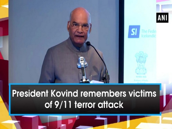 President Kovind remembers victims of 9/11 terror attack
