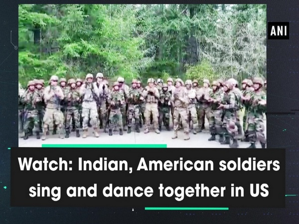 Watch: Indian, American soldiers sing and dance together in US