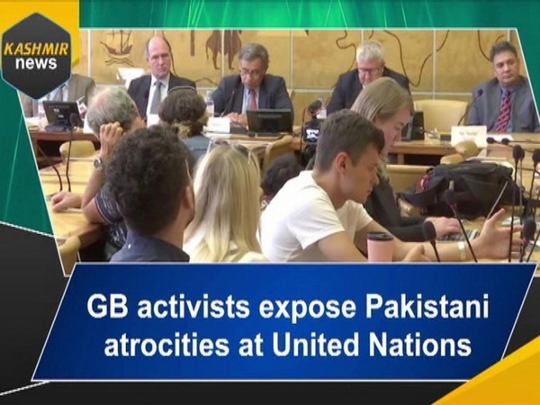 GB activists expose Pakistani atrocities at United Nations