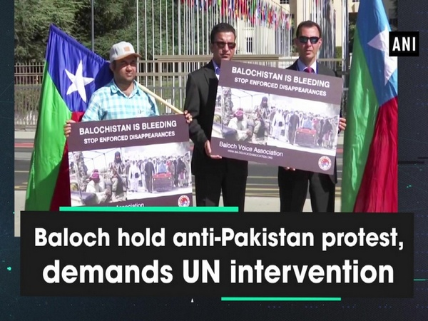 Baloch hold anti-Pakistan protest, demands UN intervention