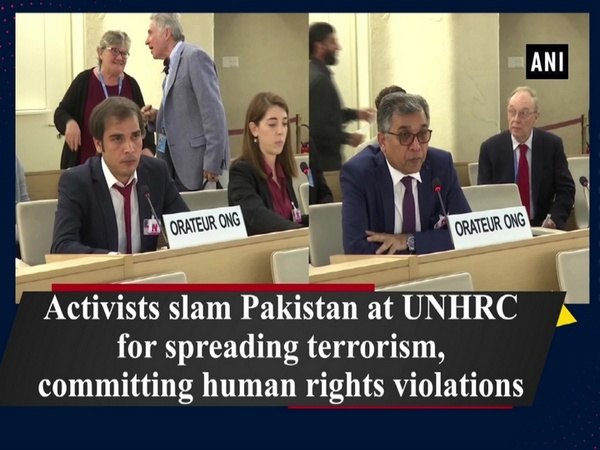 Activists slam Pakistan at UNHRC for spreading terrorism, committing human rights violations