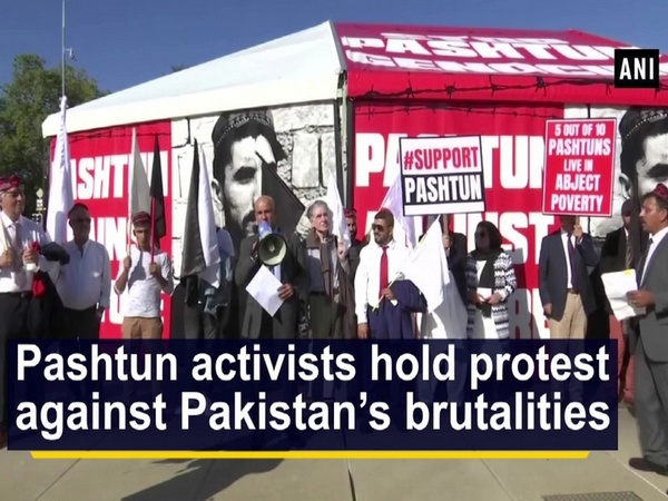 Pashtun activists hold protest against Pakistan's brutalities