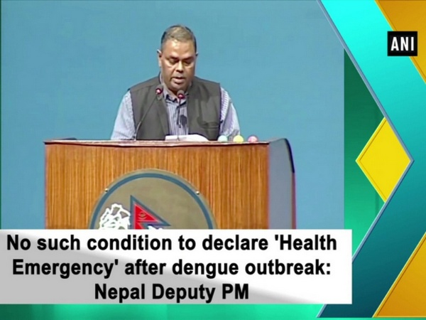 No such condition to declare 'Health Emergency' after dengue outbreak: Nepal Deputy PM