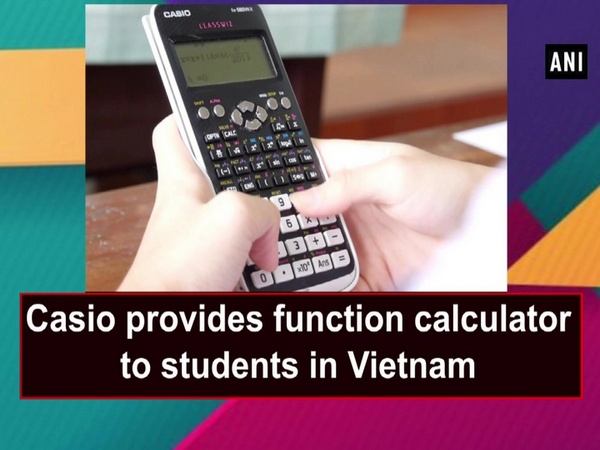 Casio provides function calculator to students in Vietnam