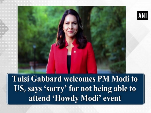 Tulsi Gabbard welcomes PM Modi to US, says 'sorry' for not being able to attend 'Howdy Modi' event