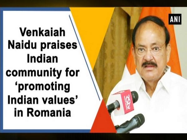 Venkaiah Naidu praises Indian community for 'promoting Indian values' in Romania