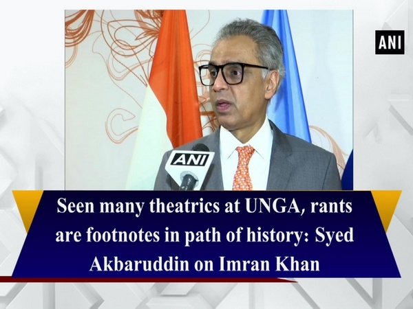 Seen many theatrics at UNGA, rants are footnotes in path of history: Syed Akbaruddin on Imran Khan