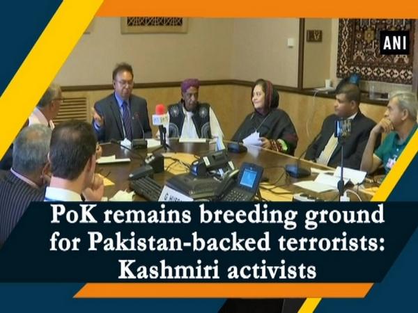 PoK remains breeding ground for Pakistan-backed terrorists: Kashmiri activists
