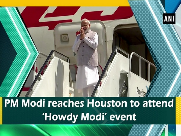 PM Modi reaches Houston to attend 'Howdy Modi' event
