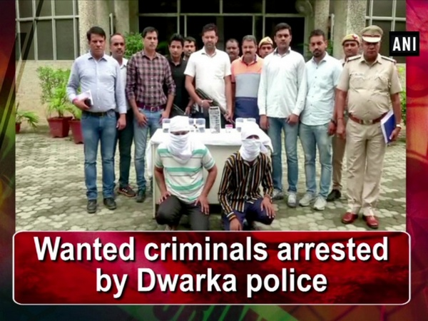 Wanted criminals arrested by Dwarka police