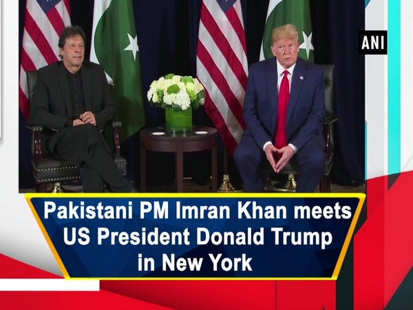 Pakistani PM Imran Khan meets US President Donald Trump in New York