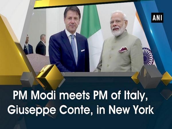 PM Modi meets PM of Italy, Giuseppe Conte, in New York